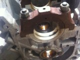 """Блок двигателя с картером гидротрансформатора ГАЗ-13 """"Чайка"""""""