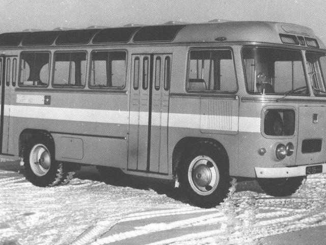 Экслюзивный РЕТРО автобус ПАЗ-672М